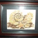 Handpainted Silk - Sea Shells - SOLD