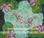 Silk Painting - Koi